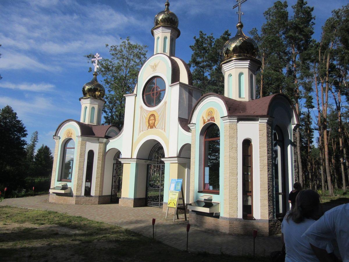 Свята-Елісееўскі Лаўрышаўскі мужчынскі манастыр. Фота: Мікалай ПАДГАЙСКІ