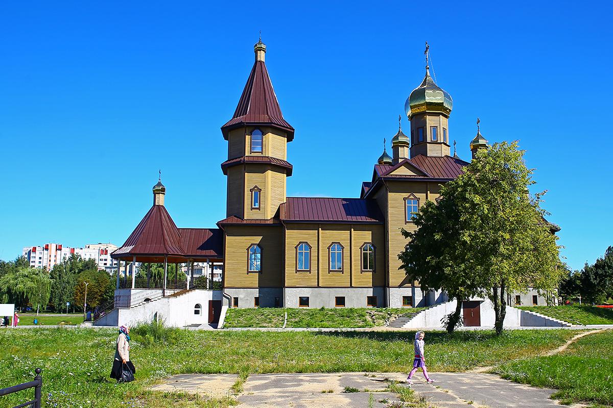Храм Святого великомученика Георгия Победоносца. Фото: Евгений ТИХАНОВИЧ