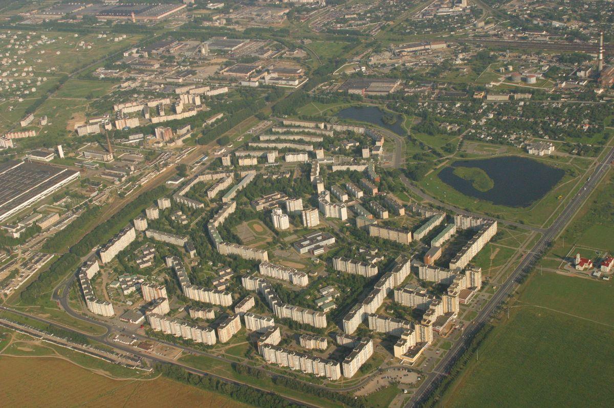 Северный микрорайон с высоты птичьего полета, 2004 год. Фото: архив 558 АРЗ
