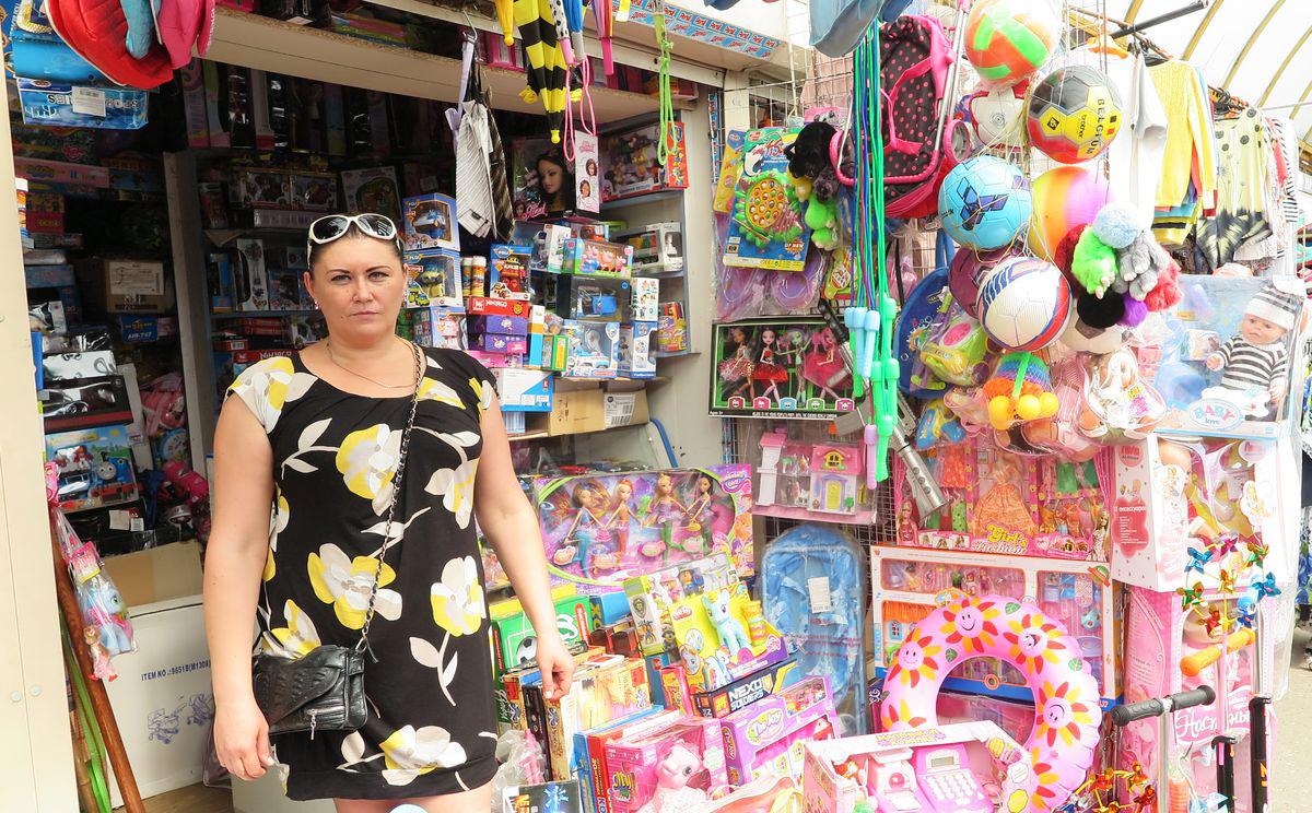 Юлия Сохончук торгует игрушками около 17 лет.