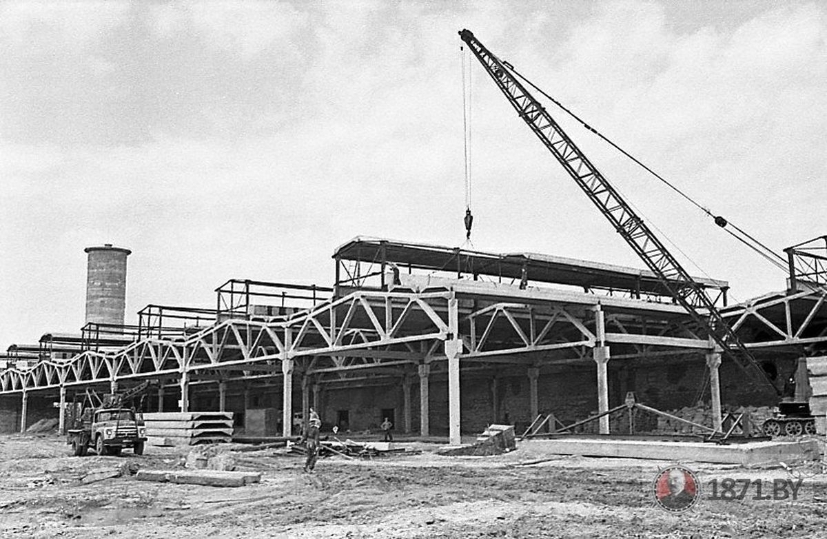 Строительство завода автоматических линий. Фото: сайт 1871. by
