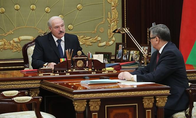 Александр Лукашенко и Владимир Зиновский. Фото: http://president.gov.by/