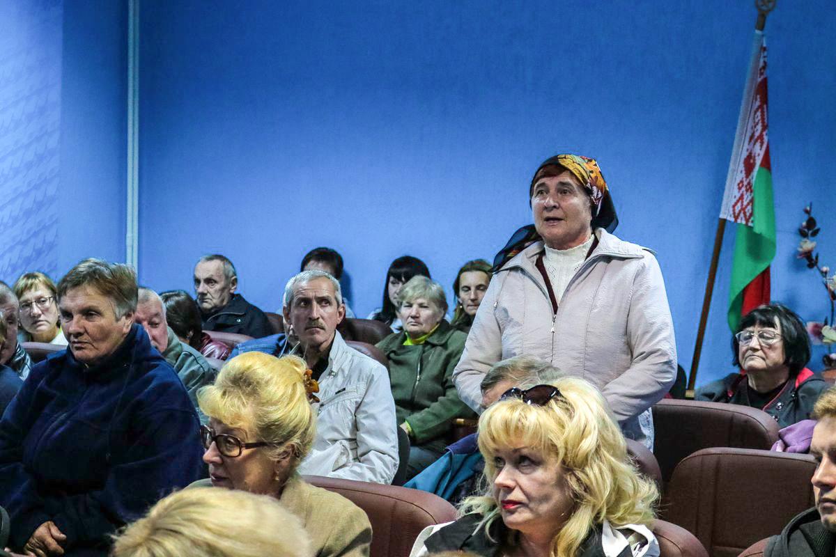 Галина Павловна Кунцевич, старшая по дому №159Б на улице Тельмана.