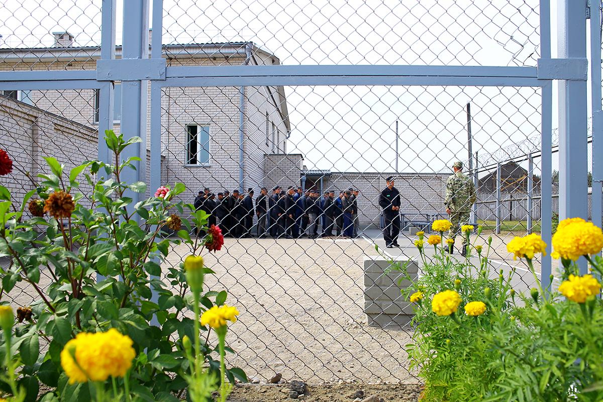 Построение заключенных.