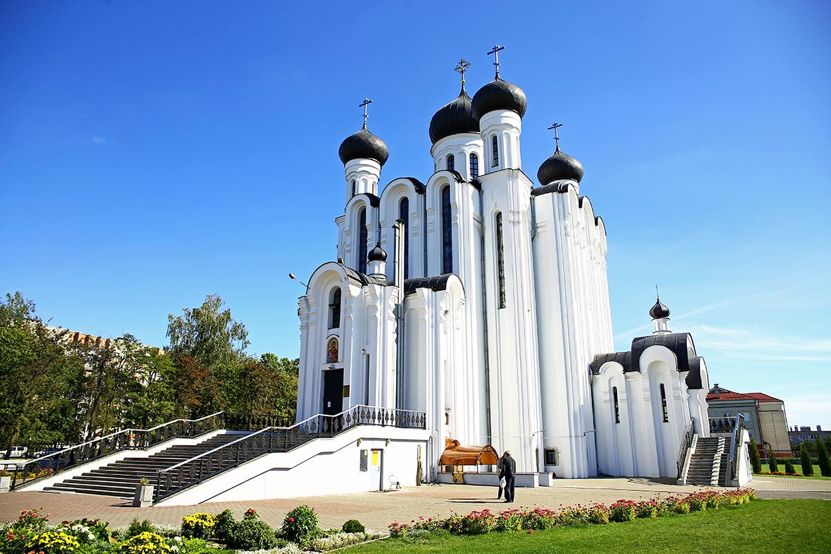 Храм Святого благоверного князя Александра Невского. Фото: Евгений ТИХАНОВИЧ