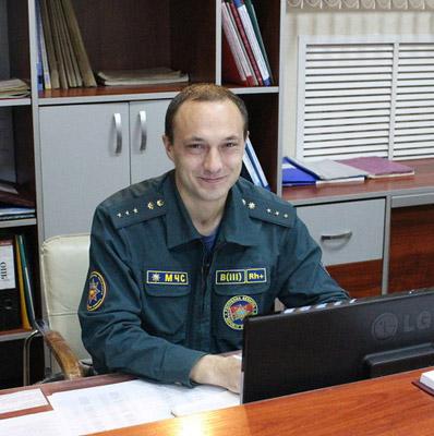 Владимир Шилеев. Фото: http://mchs.gov.by