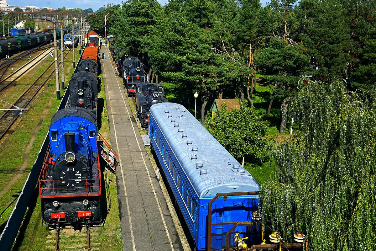 Барановичский музей железнодорожной техники. Фото: Евгений ТИХАНОВИЧ