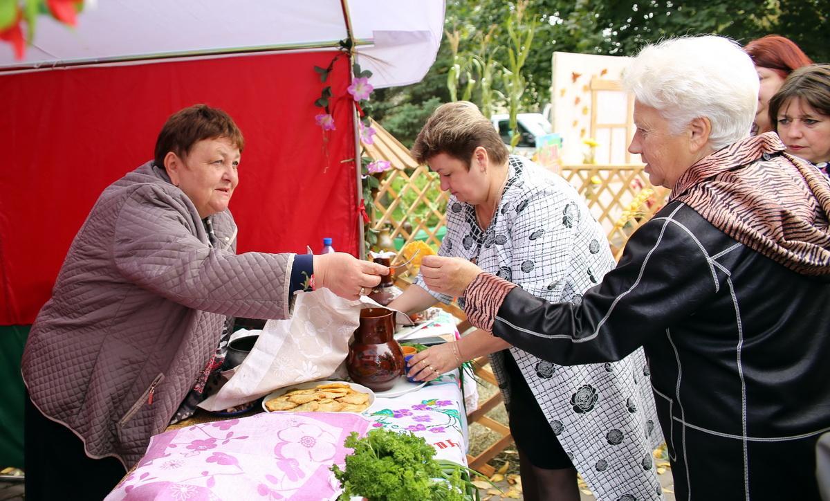 Дегустация блюд белорусской кухни.
