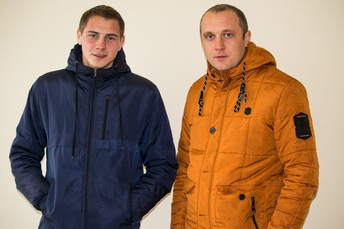 Дмитрий Кунцевич и Антон Зайко.