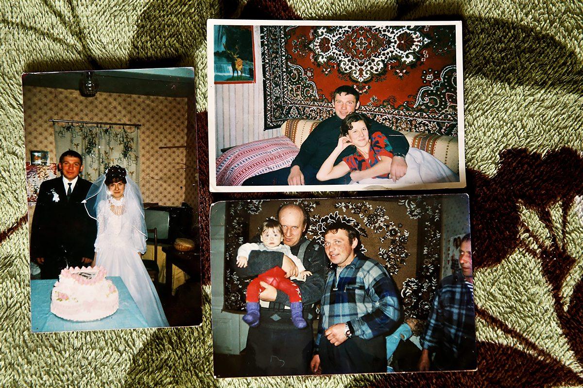 Фотографии из семейного архива, на которых Анатолий еще здоров.