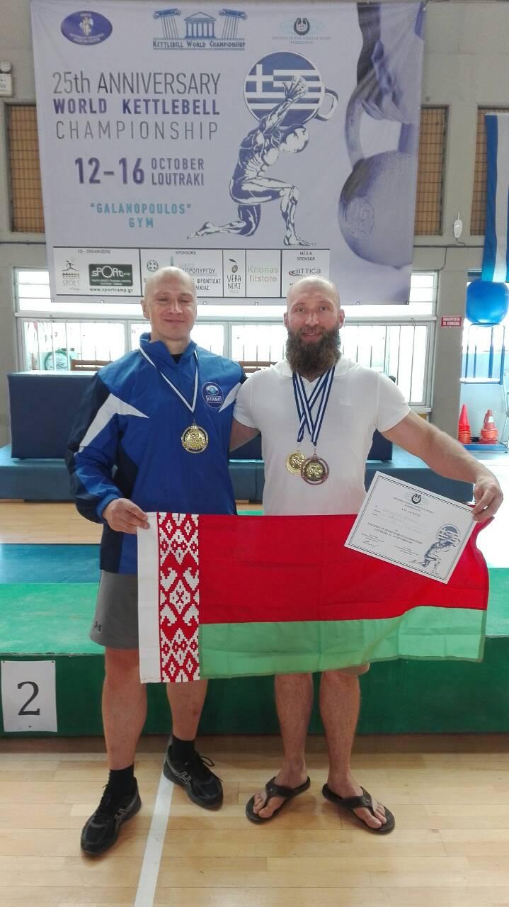 Андрей Лагунский (слева) и Михаил Бородич.