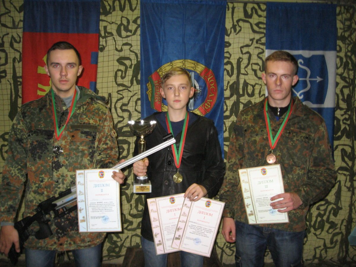 Дмитрий Марук, Кирилл Стельмахович, Александр Лазарчук (слева направо). Фото: Александр БОКАЧ