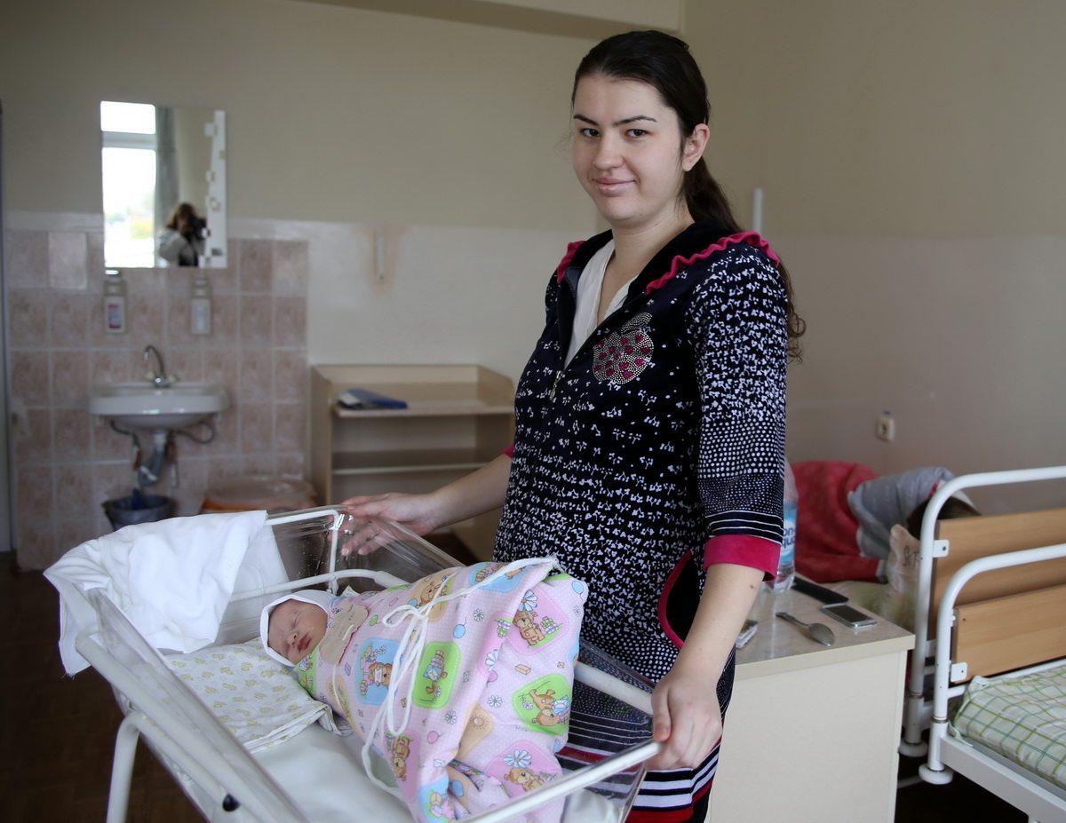 У Алены Домино 14 октября родилась девочка.