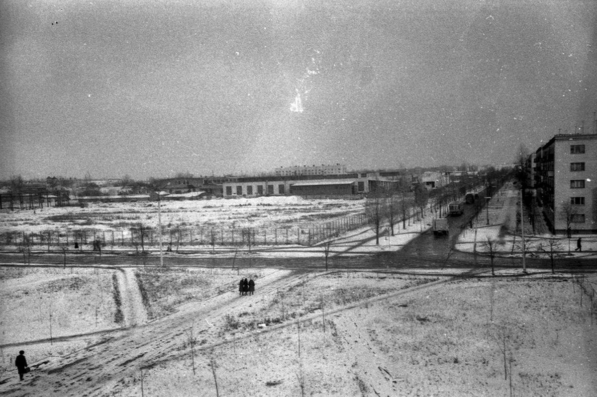 Вид на пустующую территорию автоагрегатного завода. Фото предоставлено Барановичским краеведческим музеем.
