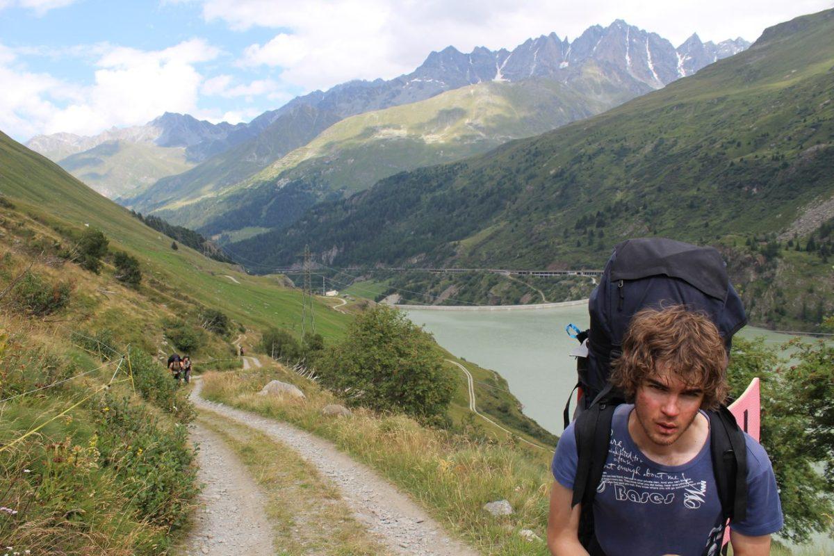 2013 год. Восхождение на Альпы.
