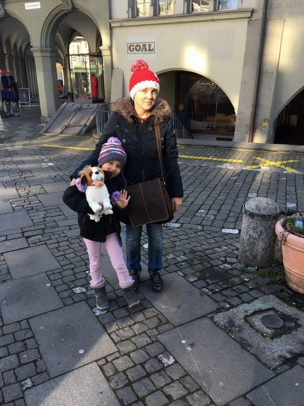 Тамара Раменспергер с младшей дочерью Валентиной.