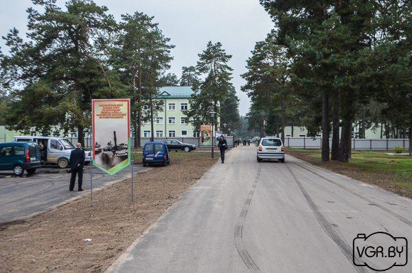 Воинская часть, в которой повесился солдат. Фото: http://vgr.by