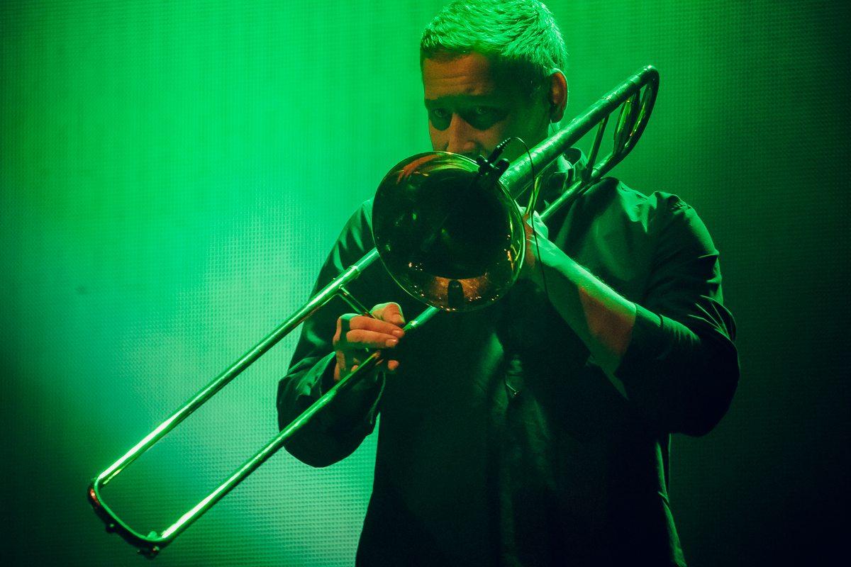 Антон Вишняков - тромбонист группы ДДТ