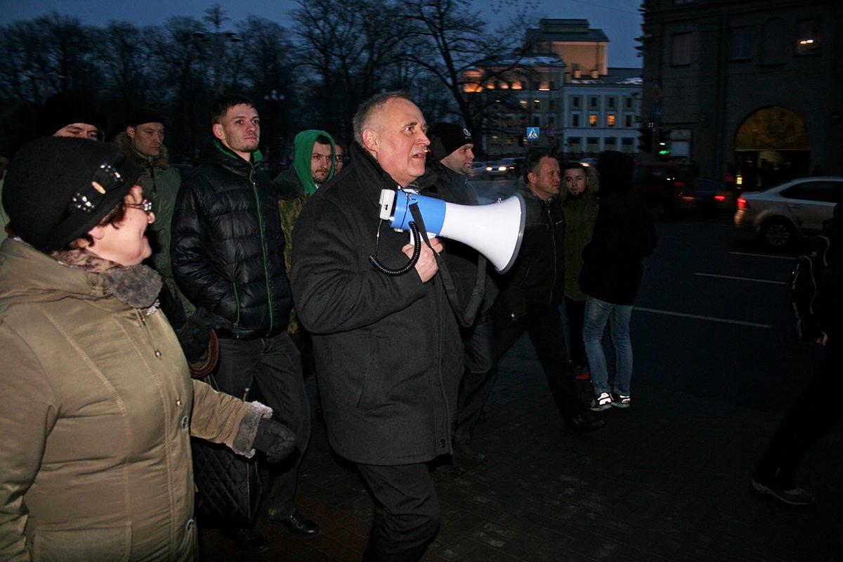 «Марш рассерженных белорусов», февраль 2017. Фото: Евгений ТИХАНОВИЧ