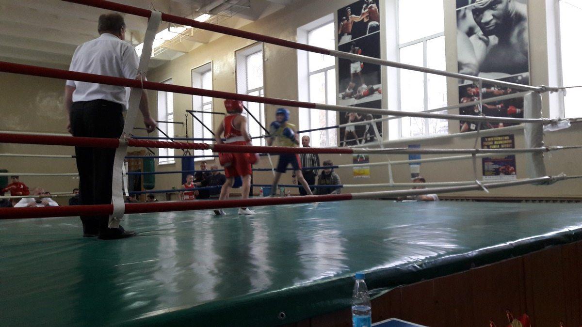 На ринге – участники турнира.