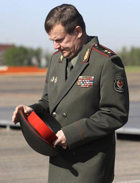 Министр обороны Беларуси Андрей Равков. Фото: citydog.by
