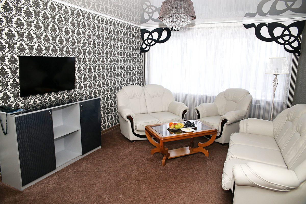 Номер гостиницы «Горизонт», в котором остановился Юрий Шевчук.