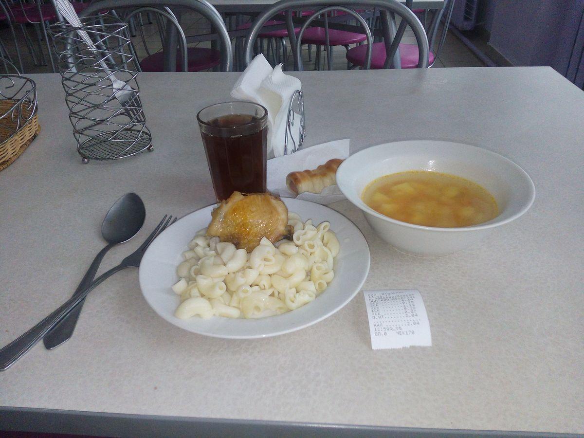 Мой обед.