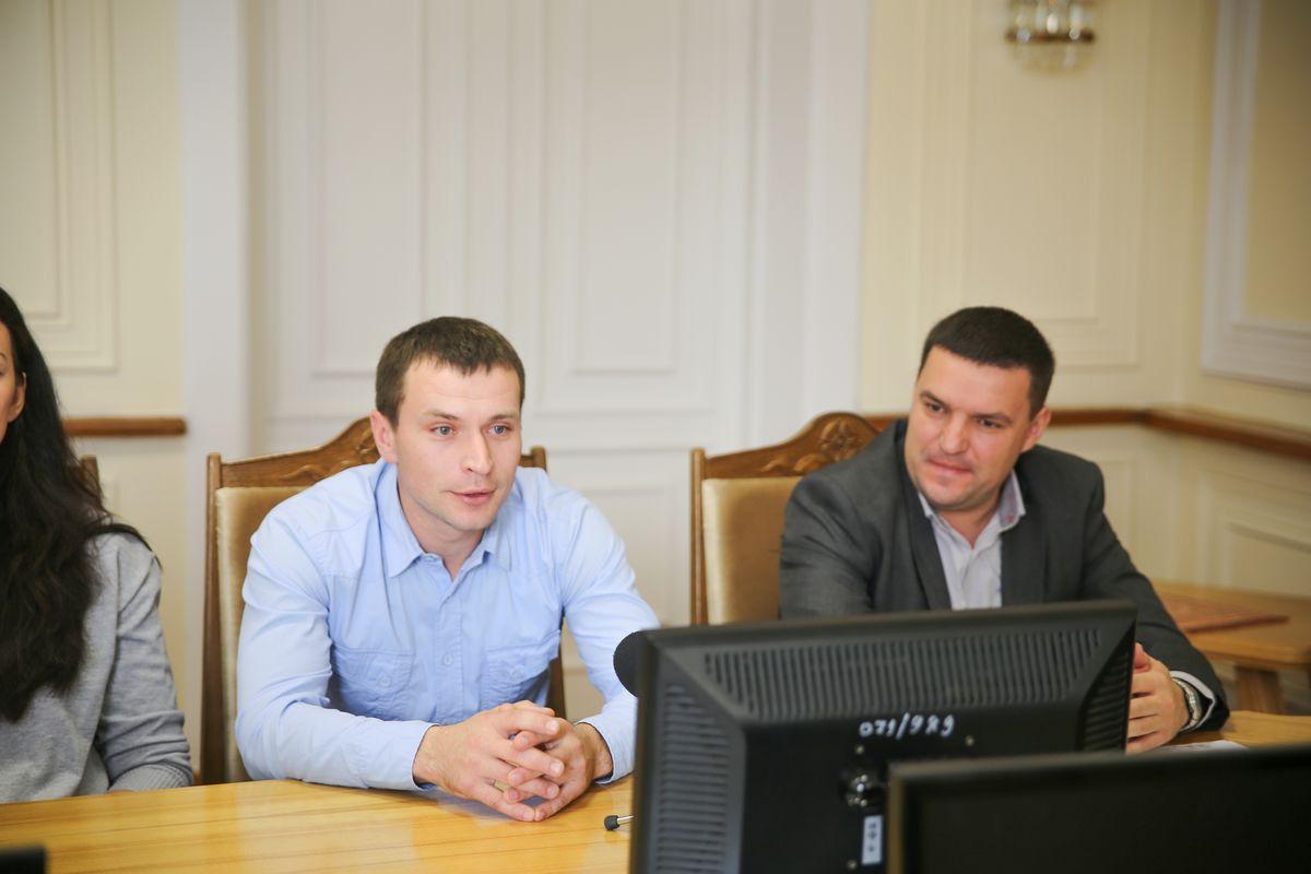 Сергей Зеленко и Юрий Сусоров.