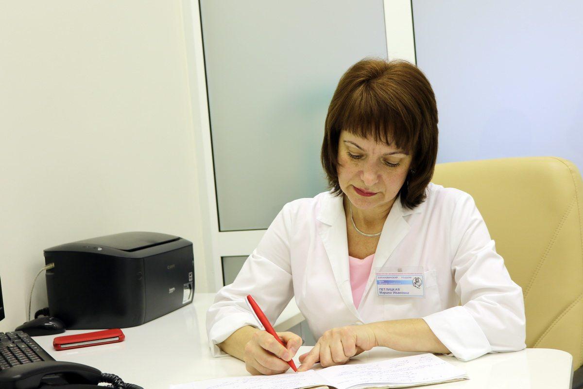 Врач акушер-гинеколог Марина Петлицкая.