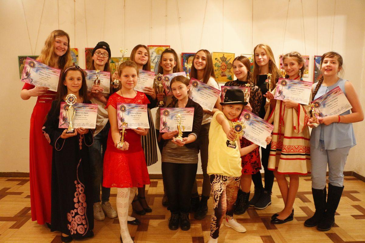 Барановичские участники международного фестиваля. Фото: архив Ольги БОЛБАТ
