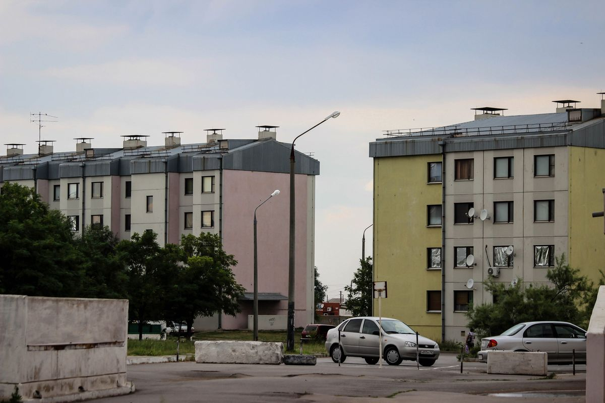 Микрорайон Тексер в российском городе Морозовске. Фото: bloknot-morozovsk.ru
