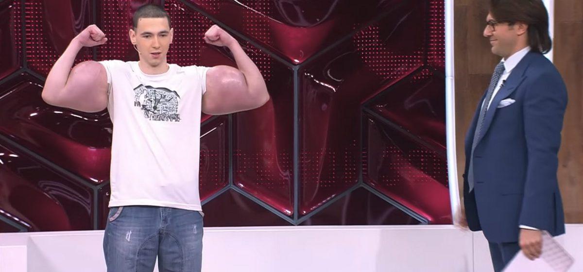 Кирилл Терешин на передаче у Андрея Малахова. Фото: youtube.com