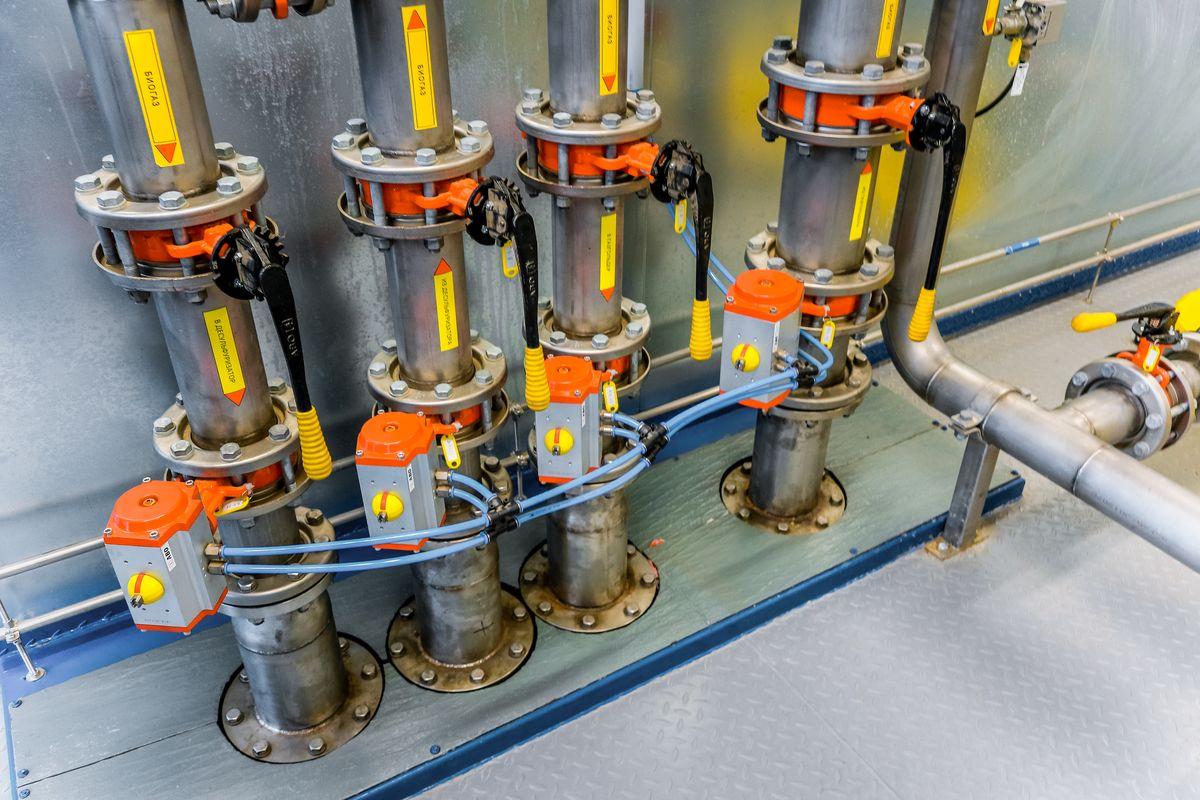 Десульфуризатор – устройство для очистки биогаза от серы.