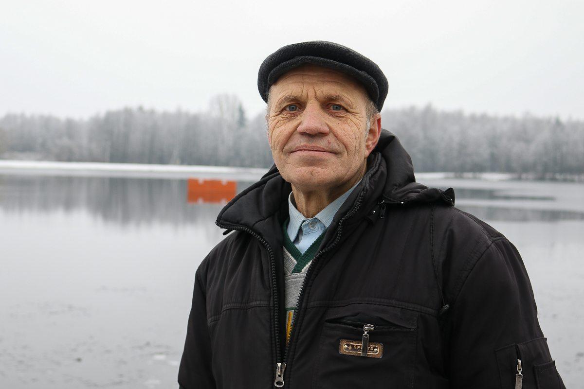 Александр Кабанов – председатель Брестского отделения Федерации спортивного зимнего плавания.