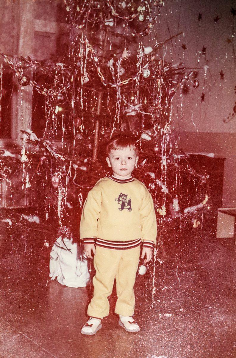 Дима в преддверии новогоднего праздника. Фото: архив Дмитрия ЛИЗЕВИЧА