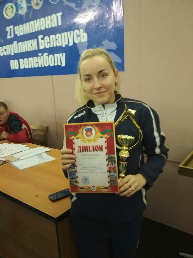 Марианна Забирать – тренер барановичской команды.