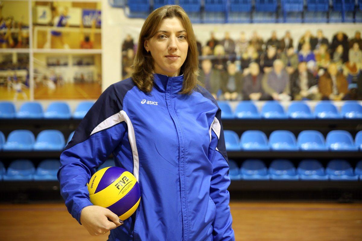 Оксана Булыга, бывшая волейболистка барановичского клуба