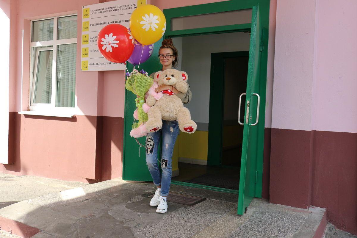 Машу Абложей 16 августа выписали из больницы. Фото: Александр ЧЕРНЫЙ