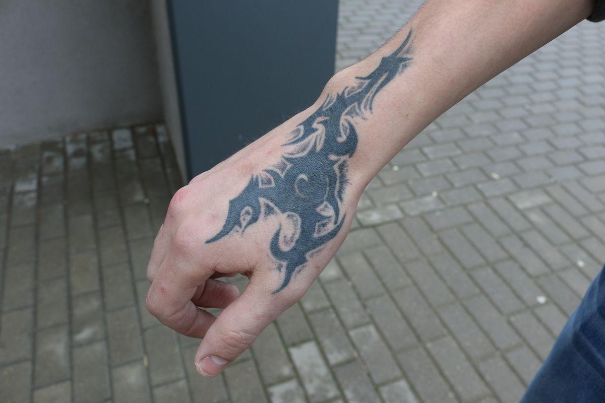 Татуировка Павла.