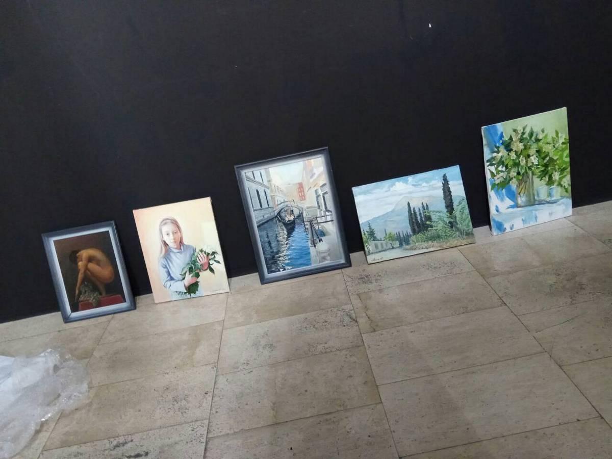 Картины Юрия Лешика. Фото: архив Юрия ЛЕШИКА