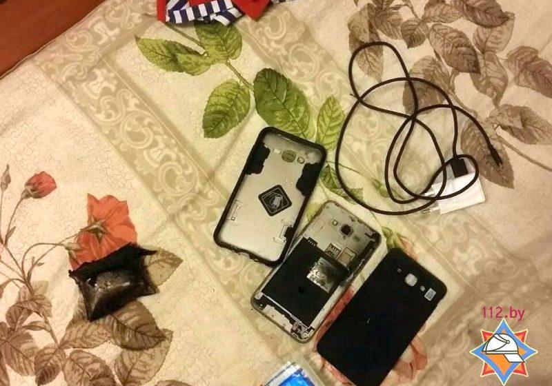 ВМинске 3-х летний парень пострадал из-за вспыхнувшей батареи мобильника