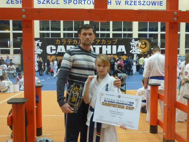 Евгения Можейко и тренер Сергей Кротов.