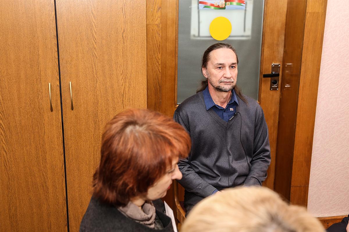 17 января. Юрий Казакевич на заседании городской избирательной комиссии.