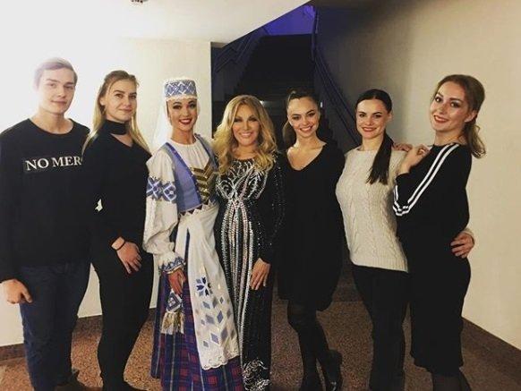 Таисия Повалий (в центре), «Наша Нiва»