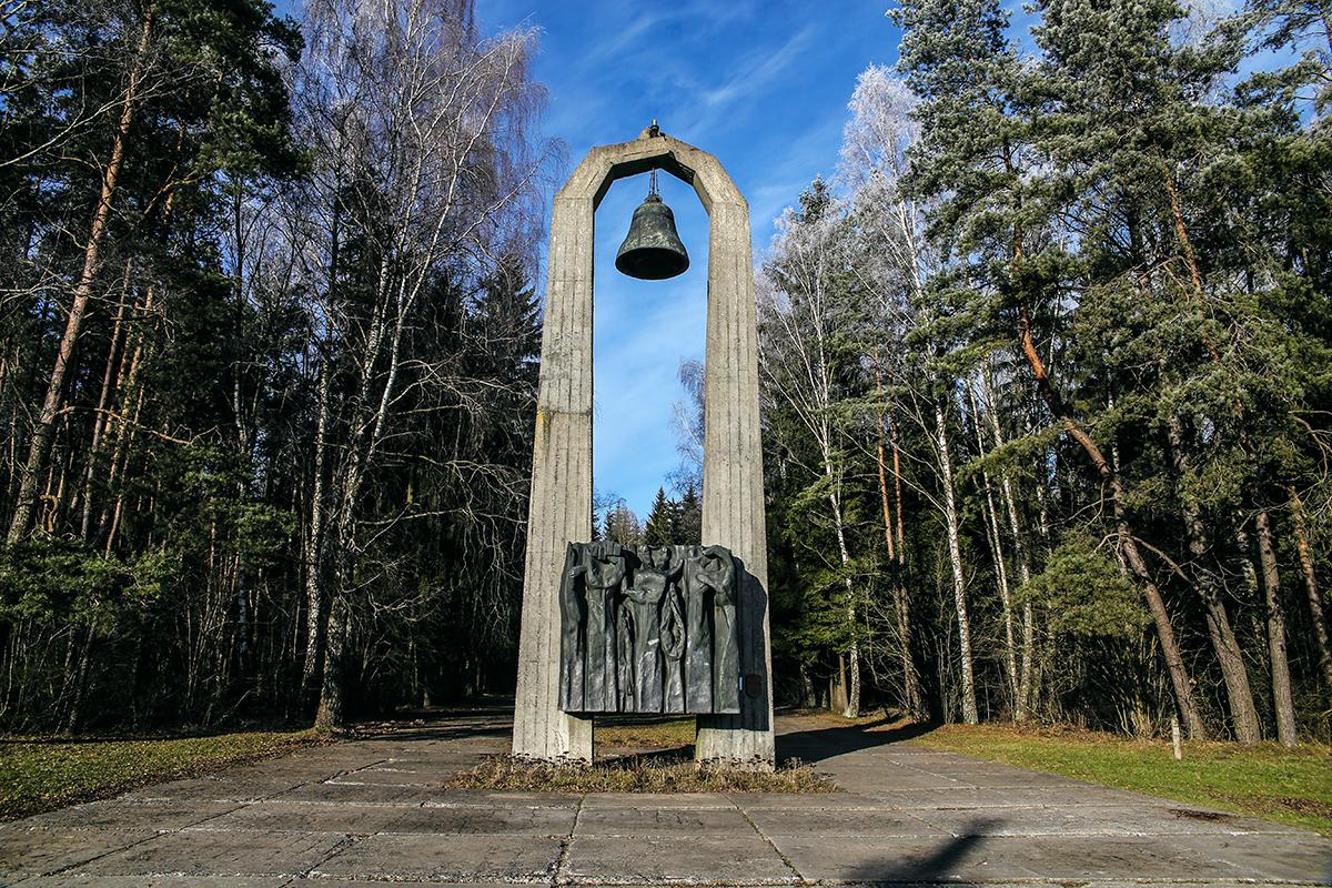Январь 2018 года. Мемориальный комплекс «Урочище Гай». Фото: Евгений ТИХАНОВИЧ