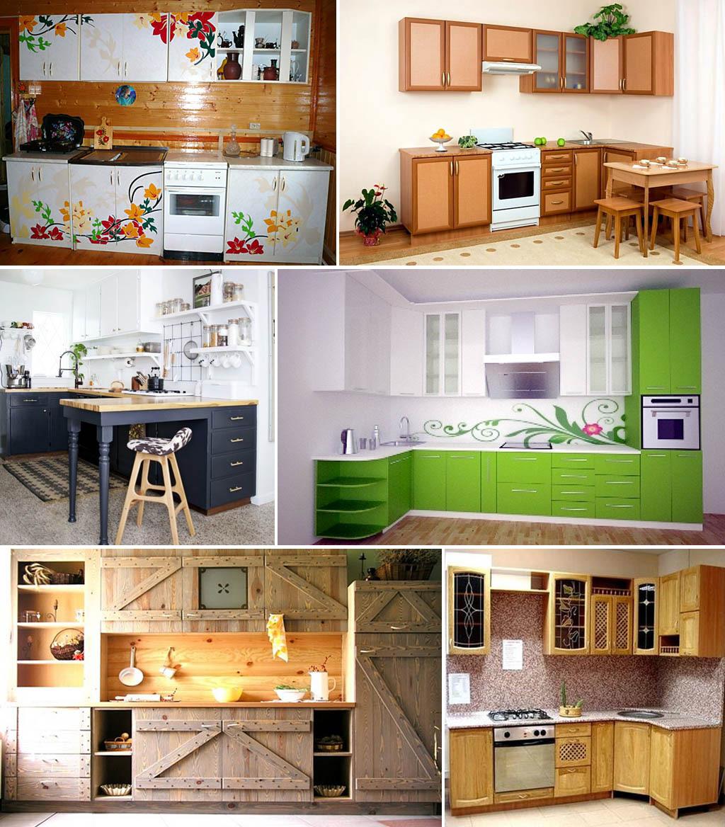 Кухонный гарнитур фото своими руками 889