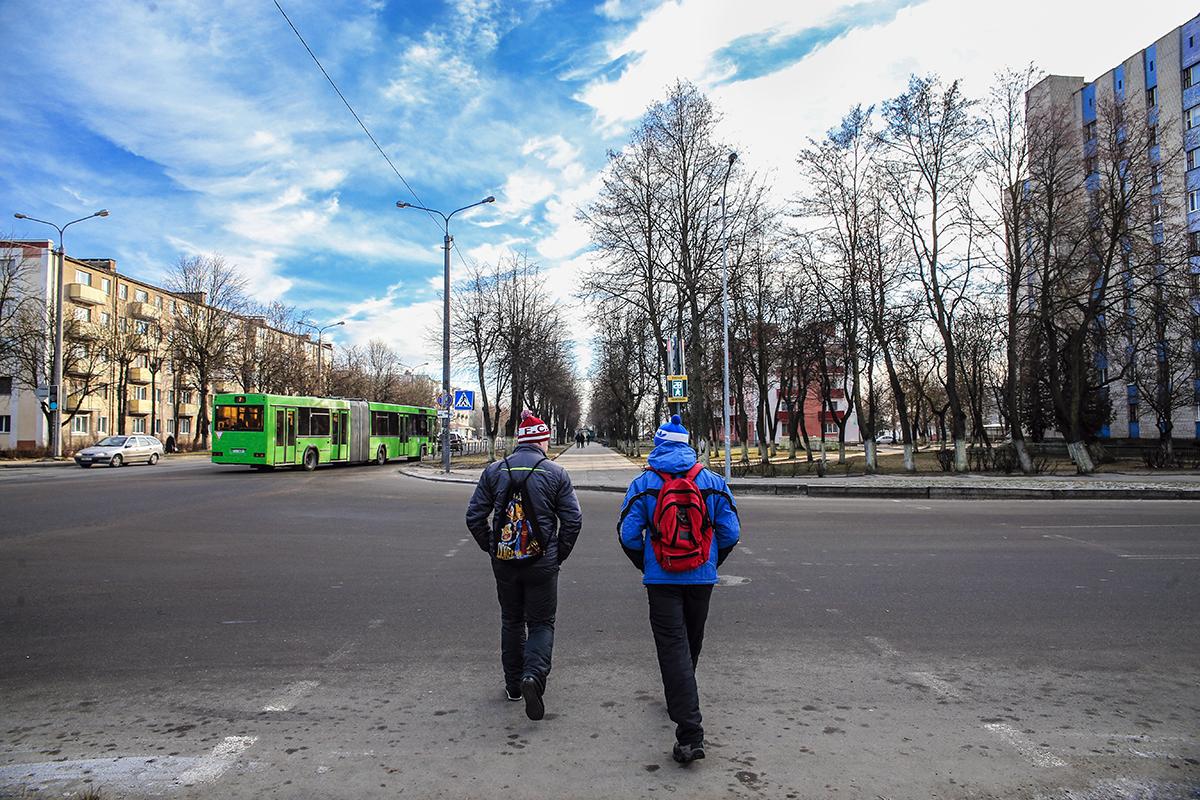 2018 год. Перекресток улиц Кирова и Фабричной. Фото: Евгений ТИХАНОВИЧ