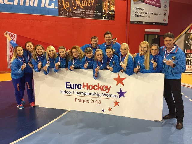 Сборная Беларуси - бронзовый призер чемпионата Европы.
