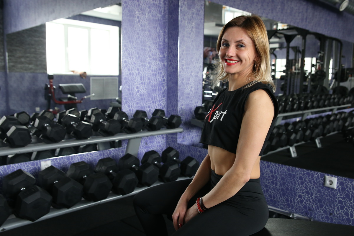 Татьяна Середа довольна своей фигурой. Фото: Евгений ТИХАНОВИЧ