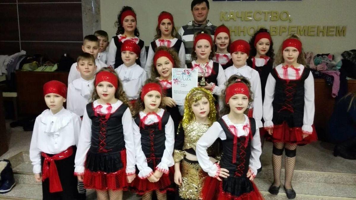 Эстрадная студия танца «От винта». Фото: архив Виталия РОЖКО